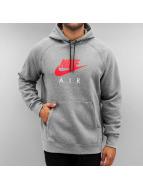 Nike Sweat à capuche Sportswear gris