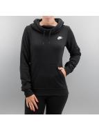 Nike Sweat à capuche Sportswear Funnel-Neck noir