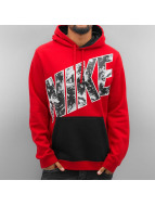 Nike Sweat à capuche City Lights Fleece rouge
