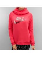Nike Sweat à capuche Sportswear Rally rouge