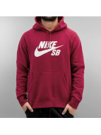 Nike Sweat à capuche Icon rouge