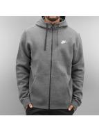 Nike Sweat à capuche zippé Sportswear gris
