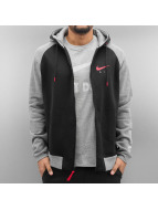 Nike Sweat à capuche zippé NSW FZ BB Air HYB gris