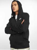 Nike Sweat à capuche zippé Sportswear noir