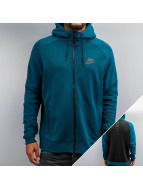 Nike Sweat à capuche zippé Sportswear turquoise