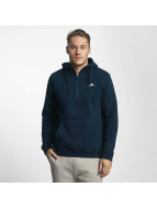 Nike NSW HZ Fleece Club Hoody Obsidian/Obsidian/White