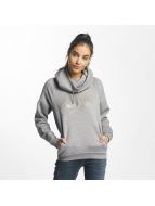 Nike NSW Metallic Rally Hoody Carbon Heather/Cool Grey