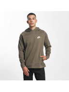 Nike AV15 Fleece Hoody Medium Olive/Black/Black/White