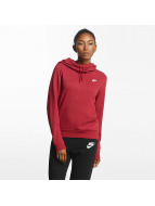 Nike Sweat capuche Sportswear Fleece rouge