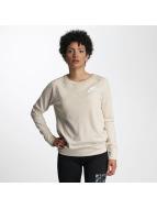 Nike Swetry Sportswear Crew bezowy