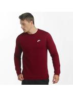 Nike Swetry NSW FLeece Club czerwony