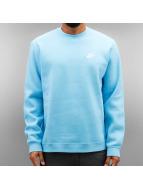 Nike Swetry NSW FLeece Club niebieski