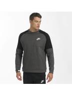 Nike Swetry AV15 Fleece Sweatshirt szary