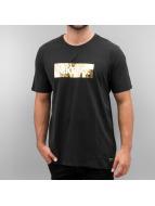 Nike F.C. Foil T-Shirt Black/Yellow Foil/Black