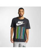 Nike T-paidat INTL 1 musta