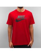 Nike T-paidat Futura Icon punainen