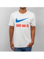 Nike New JDI Swoosh T-Shirt White/Team Orange/Team Royal