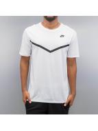 Nike T-paidat Futura Mesh Panel Print valkoinen