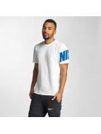 Nike T-paidat NSW Hybrid valkoinen
