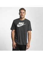 Nike NSW Legacy T-Shirt Birch Heather/Outdoor Green/Sail