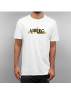Nike T-Shirt F.C. Foil blanc
