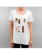 Nike T-Shirt Logo blanc