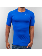 Nike t-shirt Pro Cool Compression blauw