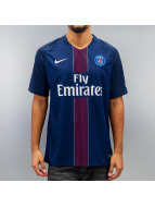 Nike t-shirt Paris Saint-Germain Stadium blauw
