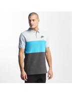 Nike T-Shirt NSW Polo Match Up bleu
