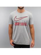 Nike T-Shirt Embroidery JDI grey
