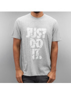 Nike t-shirt Dry Just Do It Grind grijs