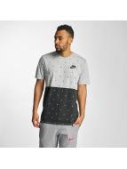 Nike T-Shirt NSW Polka Dot gris