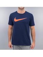 Nike T-Shirt Chest Swoosh indigo