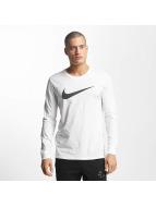Nike T-Shirt manches longues Icon Swoosh blanc
