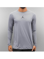 Nike T-Shirt manches longues All Season Fitted gris