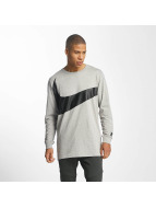 Nike NSW Hybrid Longsleeve Dark Grey Heather/Black