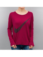 Nike T-Shirt manches longues NSW GX rouge