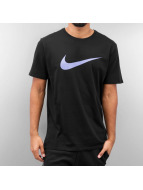Nike T-Shirt Chest Swoosh noir