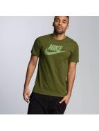 Nike t-shirt Futura Icon olijfgroen