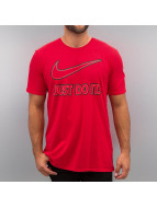 Nike T-Shirt Embroidery JDI rot