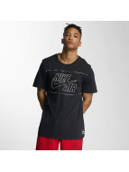 Nike T-Shirt Air 1 schwarz