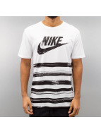 Nike T-Shirt Flow Motion Futura weiß