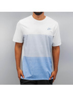 Nike T-Shirt Tonal Colorblock white
