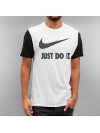 Nike T-Shirt NSW Hrngbn JDI Swoosh white