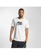 Nike t-shirt NSW TB Seasonal FTRA wit