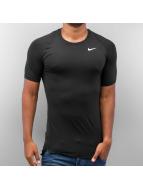Nike t-shirt Pro Cool Compression zwart