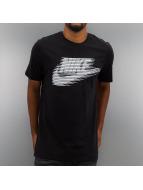 Nike t-shirt Lenticular Futura zwart
