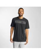 Nike t-shirt Dry Just Do It zwart