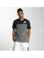 Nike t-shirt INTL 3 zwart