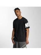 Nike t-shirt NSW Hybrid zwart